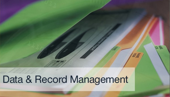 Data Storage & Record Management